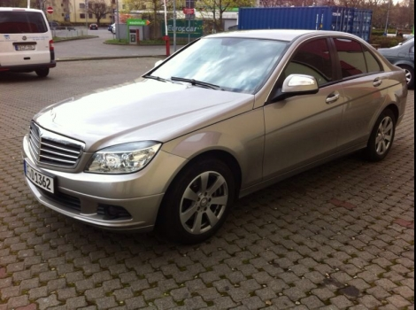 Mercedes C Frankfurt am  Main