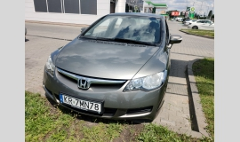 Honda, Civic, Honda Civic VIII SEDAN 1.8 I-VTEC AUTOMAT